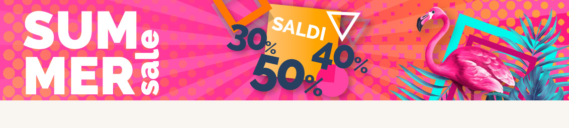SUMMER SALE 50% 40% 30%