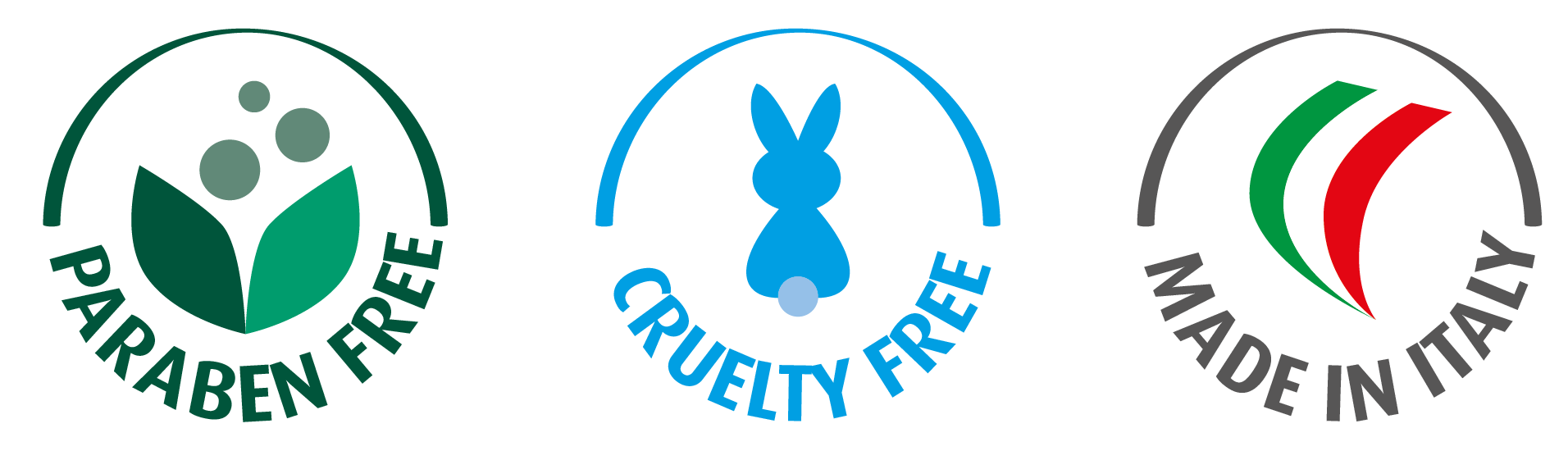 paragon free cruelty free made in italy
