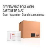 CERETTA ROSA VASO 400 ML- CONFEZIONE DA 24 PEZZI