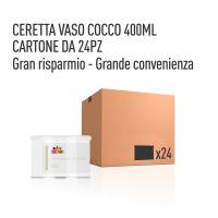 CERETTA COCCO VASO 400 ML- CONFEZIONE DA 24 PEZZI