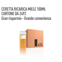 CERETTA MIELE-GIALLA RICARICA 100 ML- CONFEZIONE DA 24 PEZZI