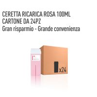 CERETTA ROSA RICARICA 100 ML- CONFEZIONE DA 24 PEZZI