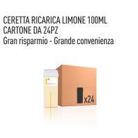 CERETTA LIMONE RICARICA 100 ML- CONFEZIONE DA 24 PEZZI