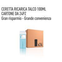 CERETTA TALCO RICARICA 100 ML- CONFEZIONE DA 24 PEZZI