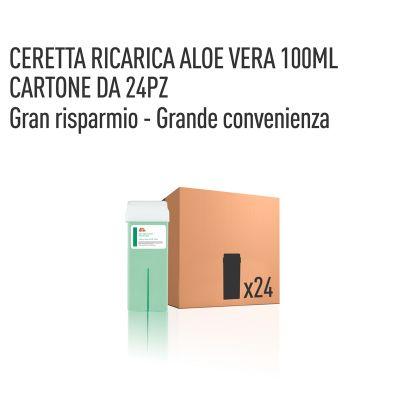 CERETTA ALOE VERA RICARICA 100 ML- CONFEZIONE DA 24 PEZZI