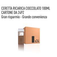 CERETTA CIOCCOLATO RICARICA 100 ML- CONFEZIONE DA 24 PEZZI