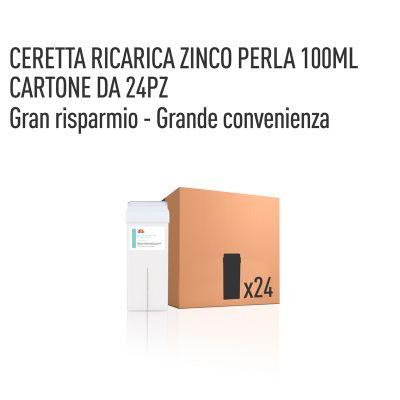 CERETTA ZINCO PERLA RICARICA 100 ML- CONFEZIONE DA 24 PEZZI