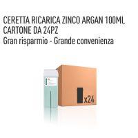 CERETTA ZINCO OLIO ARGAN RICARICA 100 ML- CONFEZIONE DA 24 PEZZI