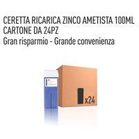 CERETTA ZINCO AMETISTA RICARICA 100 ML- CONFEZIONE DA 24 PEZZI