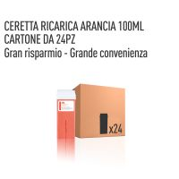 CERETTA ARANCIA RICARICA 100 ML- CONFEZIONE DA 24 PEZZI