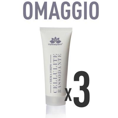 INCREDIBILE OMAGGIO VALORE SCONTO 20% - 3 tubi crema massaggio rassodante
